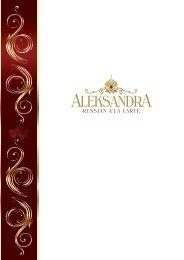 Russian A la Carte Aleksandra (03.10 - 31.03.2020)