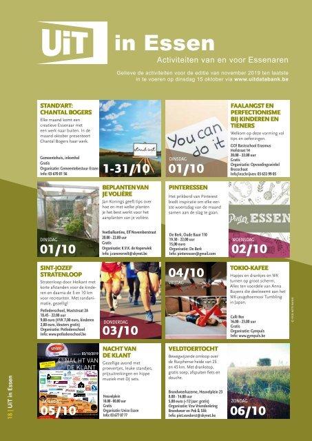 Essen Info oktober 2019