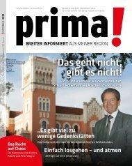 prima! Magazin – Ausgabe Oktober 2019