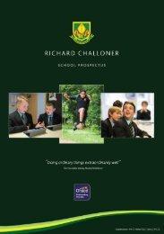 Richard Challoner School Prospectus 2020