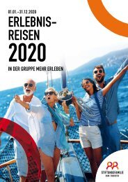 Erlebnis-Reisen 2020