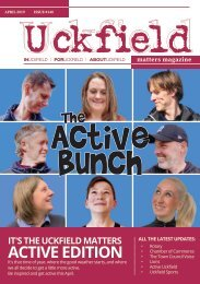 Uckfield Matters April 2019