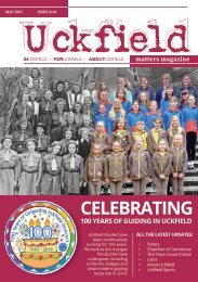 Uckfield Matters Magazine - May 2019 #141