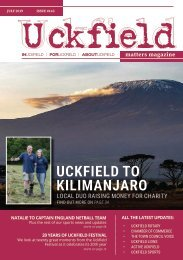 Uckfield Matters Magazine - July 19 #143