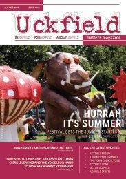 Uckfield Matters Magazine - August 19 #144