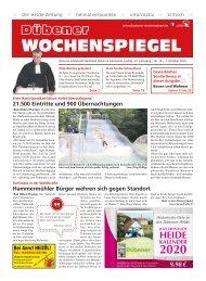 Dübener Wochenspiegel - Ausgabe 19 - Jahrgang 2019