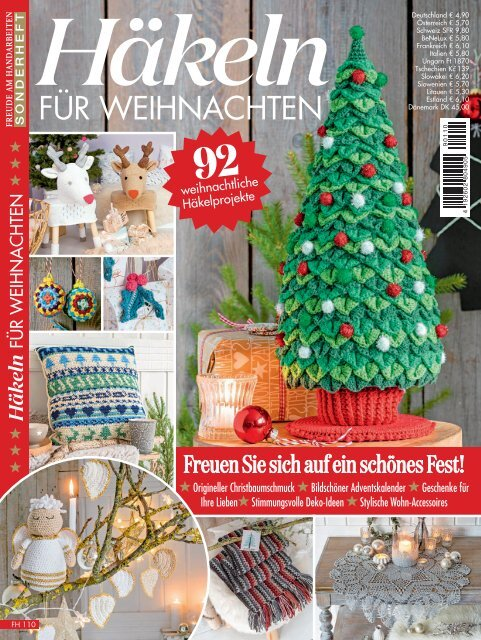 Fantastische Häkelideen Amigurumi Weihnachts-Amigurumi Vol. 10 | 640x481