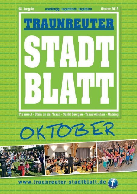Traunreuter Stadtblatt Oktober 2019