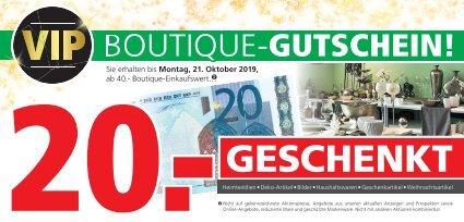 Boutique-Gutschein