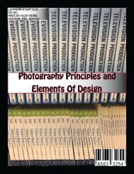 Photography Principles and Elements of Design