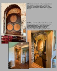 Somers Creative Wine related design and decor