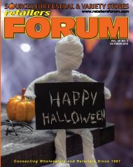 Retailers Forum Magazine - October 2019 E-Magazine