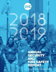Annual Security and Fire Safety Report 2018-2019