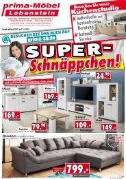 Super Schnäppchen bei prima Möbel in 07356 Bad Lobenstein