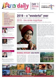 IFTM Daily 2019 Day 1 Edition