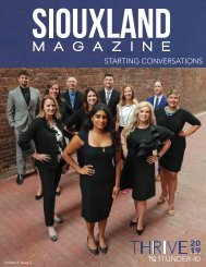 Siouxland Magazine - Volume 1 Issue 5