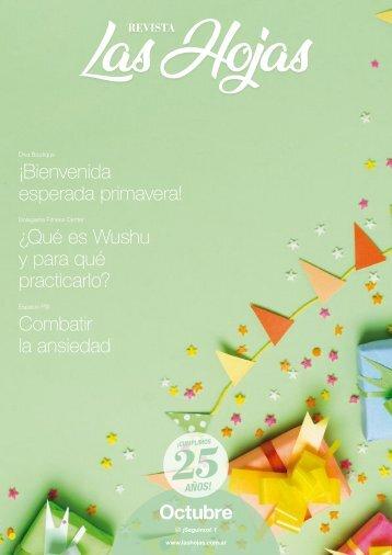 Revista Las Hojas Octubre