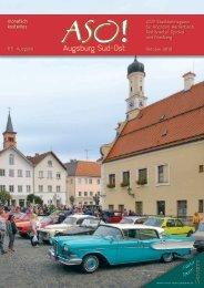 ASO! Augsburg Süd-Ost - Oktober 2019