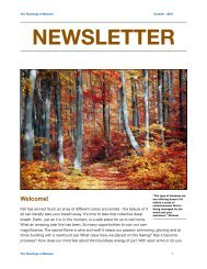 Oct. newsletter