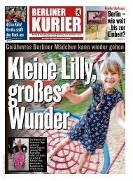 Berliner Kurier 30.09.2019