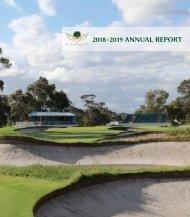 Metropolitan Golf Club - 2018-2019 Annual Report_Medium_res