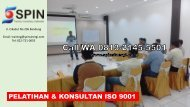 TERMURAH, Call 0813-2145-5501, In House Pelatihan ISO 9001 Bandung