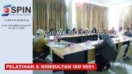 TERMURAH, Call 0813-2145-5501, Training ISO 9001 Bandung