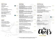 Isabelle Chefs Kitchen Menu (03.10 - 31.03.2020)
