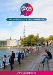 Programme Stratégique Transversal - Liège 2025