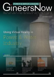 Using Virtual Reality in Electric Power and Water Utilities, Power & Water Leaders magazine, Oct2019