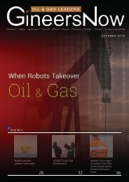 When Robots Takeover Petroleum Chemical Engineering, Oil and Gas Leaders magazine, Oct2019