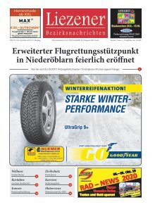 Liezener Bezirksnachrichten Nr. 8, September 2019