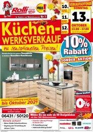 Küchen-Sonderverkauf zu sensationellen Preisen bei Rolli SB-Möbelmarkt in 65604 Elz