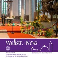Wallstr. News 19-03