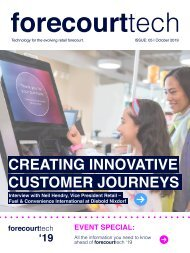 forecourttech October 19 - Event special