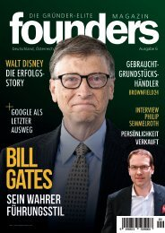 founders Magazin Ausgabe 6