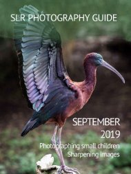 SLR Photography Guide - September Edition 2019