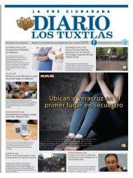 Edición de Diario Los Tuxtlas del día 01 de octubre de 2019