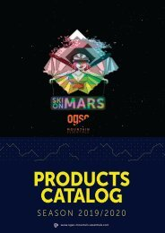 OGSO PRODUCTS CATALOG 2019/2020