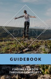 Wide Open Guidebook
