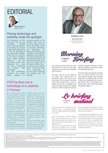 IFTM Daily 2019 Day 2 Edition