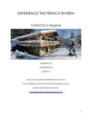 Chalet B - Megeve
