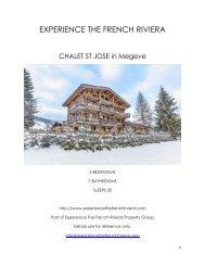 Chalet St Jose - Megeve