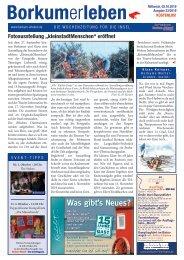02.10.2019 / Borkumerleben - Die Wochenzeitung