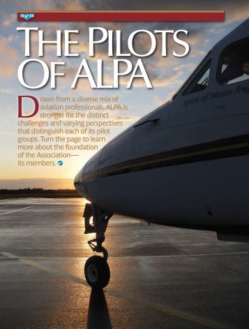 The Pilots of ALPA - Air Line Pilots Association