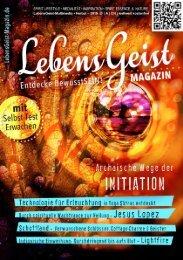 LebensGeist Magazin Herbst '19