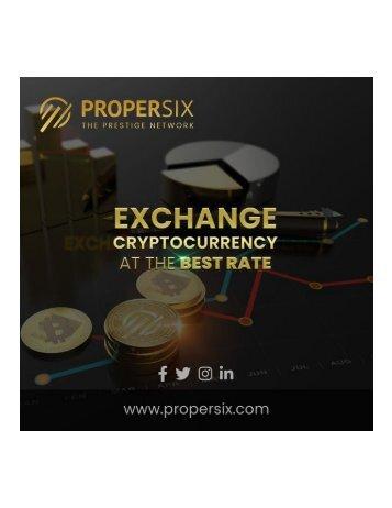 Câmbio de moeda criptografada