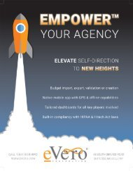 EMPOWER Your Agency