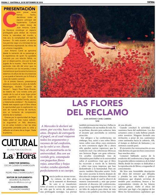 La Hora Cultural 20-09-2019