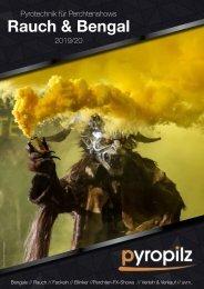 Rauch & Bengal - Pyrotechnik für Perchtenshows 2019/20